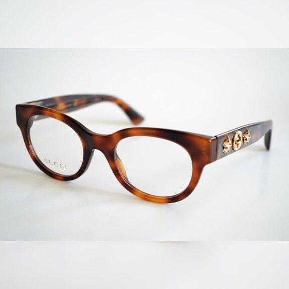 Brand NEW  GUCCI GG0209O 002  Women Eyeglasses